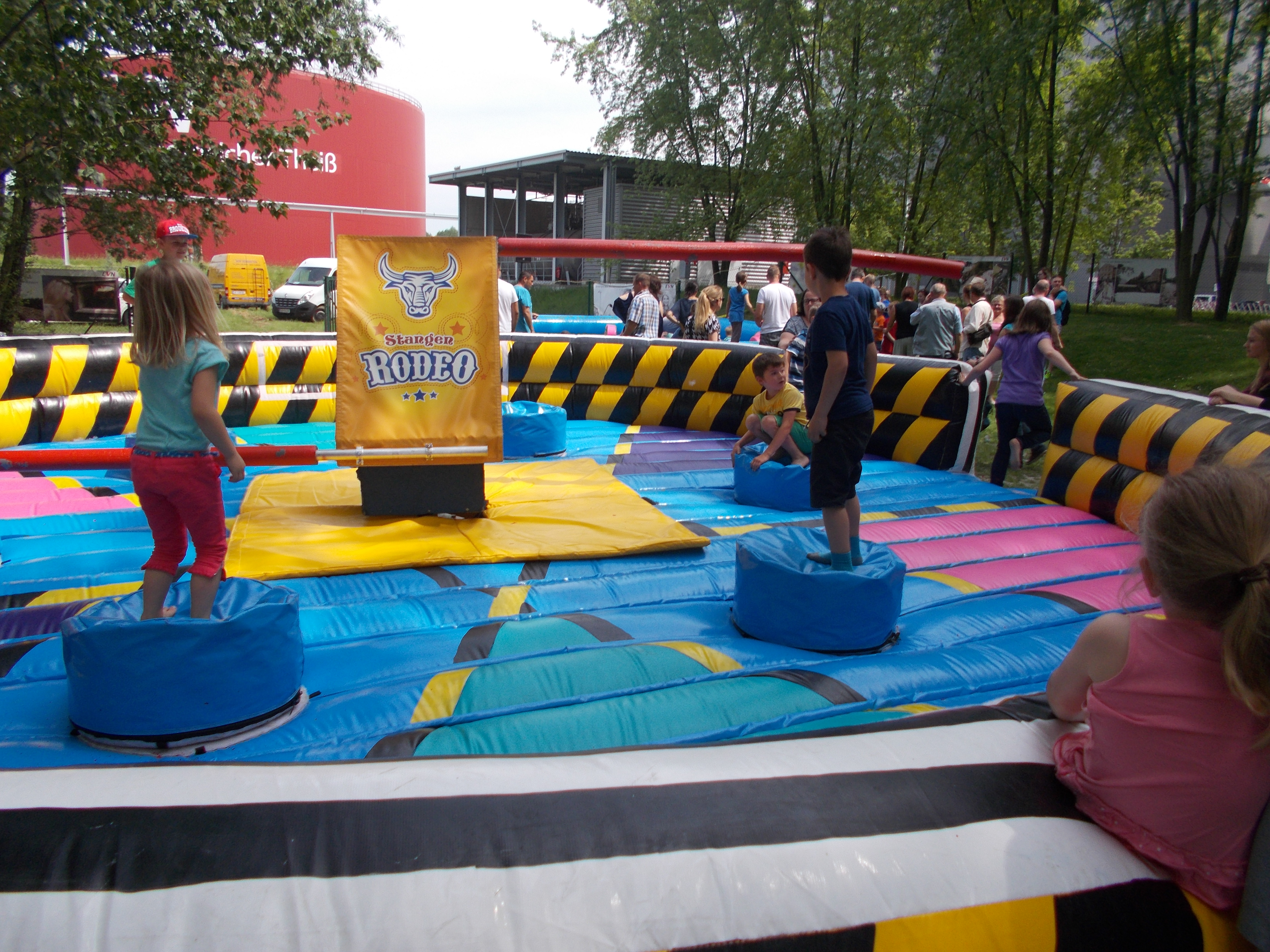 Stangenrodeo Parcours kidsmania